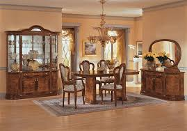 italian dining room sets milady dining room walnut milady dining walnut home furniture