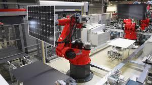 tesla robotic factory tesla image