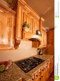 modern home kitchen cabinets range hood stock images image 9931764