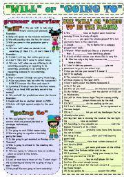 future tense esl printable worksheets and exercises