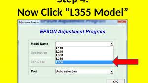 download resetter epson l110 windows 7 reset epson l110 l210 l300 l350 l355 l550 by adjustment program
