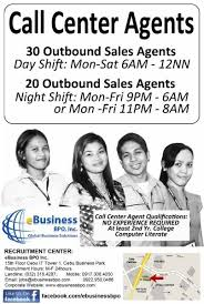 No Resume Required Jobs by Job Hiring Outbound Call Center Agents No Experience Required