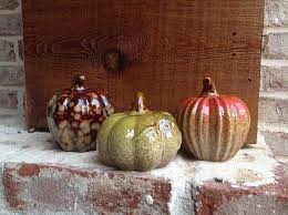 ceramic pumpkins 3pc assorted ceramic pumpkins flora decor