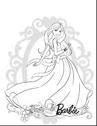 coloring pages barbie coloring pages free barbie coloring