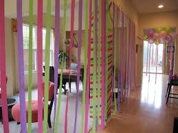 streamer decoration ideas this is beige party decorating on a