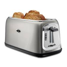 Target Toasters 4 Slice Oster 4 Slice Long Slot Toaster Stainless Steel On Oster Com