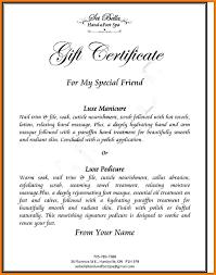 appreciation award letter sample 5 gift certificate wording letter format for gift certificate wording sample gift certificate wording jpg