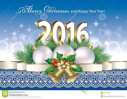 merry and happy new year 2016 stock vector image 55113440