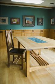 Arts And Crafts Dining Room Furniture by Custom Arts And Crafts Furniture Custom Dining Tables