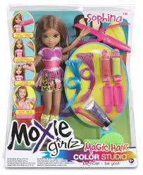 moxie girlz magic hair colour change studio avery sophina doll