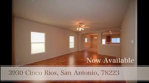 Houses For Rent San Antonio Tx 78223 3930 Cinco Rios San Antonio Texas 78223 Youtube