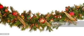 christmas garland christmas garland stock photo getty images