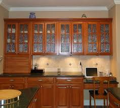 kitchens with glass cabinets kitchen glass cabinets designs trekkerboy
