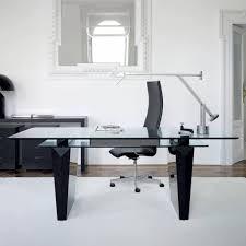 Modern Glass Executive Desk Office Desk Modern Glass Desk Glass Top For Desk Glass Executive