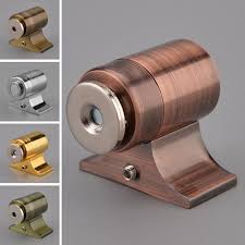 Cabinet Door Stops New Alloy Invisible Latch Cabinet Door Magnetic Catch Latch In