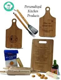 Personalized Kitchen Items Bamboo Kitchen Accessories