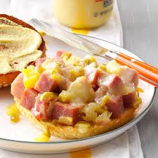 thanksgiving ham recipes with pineapple pineapple dijon ham sandwiches recipe taste of home