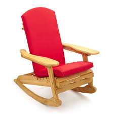 modern simple design of the wooden reclining rocker chair can be
