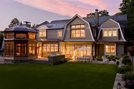 hilltop gambrel pool house architect magazine lda architecture newton ma hilltop gambrel