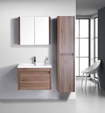 Modern Walnut Bathroom Vanity Labrador Golden Elite 30 Walnut Modern Wall Mount Bathroom