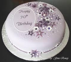 70th birthday cakes 70th birthday cake by ginas cakes on deviantart