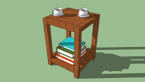 Build Wooden End Table by How To Build An End Table Howtospecialist How To Build Step