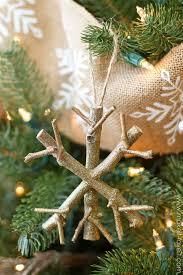 twiggy snowflake ornament a cinch to make make it and