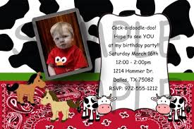 farm cow print barn baby shower or birthday invitations diy