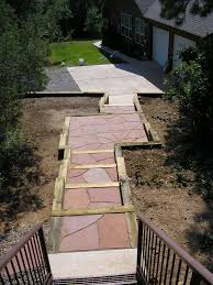 flagstone patio pavers gardenhart landscaping and design tips pioneer of sustainable