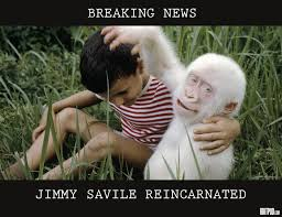 Jimmy Savile Meme - breaking news jimmy savile confirmed reincarnated britpod