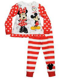 Minnie Mouse Clothes For Toddlers Disney Minnie Mouse Pijama Para Niñas Minnie Mouse Amazon Es