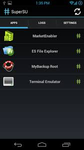 android superuser supersu brings better superuser root permission management to android