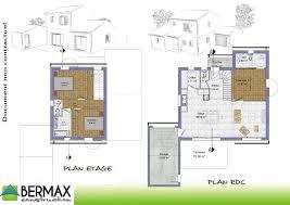 plan maison etage 3 chambres plan maison 3 chambres gallerie maisons bois
