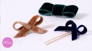 velvet bows diy velvet hair bows diy style martha stewart