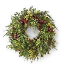 outdoor pre lit wreath frontgate