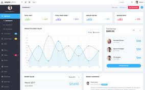 download ample admin dashboard template bootstrap theme