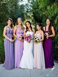 purple bridesmaids dresses weddings wedding and purple wedding