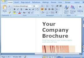 office word brochure template office 365 templates freeofficetemplatesblog