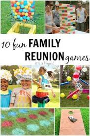 65 outdoor for the entire family family reunions