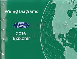 2016 ford explorer wiring diagram manual original