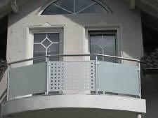 balkon lochblech aluminium balkon ebay