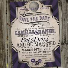 vintage save the date vintage retro save the date steunk save the date wedding