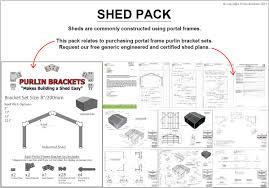 Ebay Carport Shed Brackets 6inch C Section Purlin Garage Steel Plate