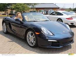 Porsche 911 Interior Color Codes 2013 Porsche Boxster Dark Blue Metallic Color Luxor Beige