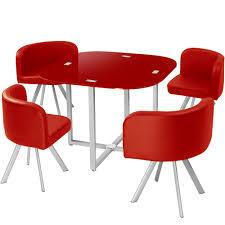 Chaises De Cuisine Rouge by Design Table Avec Chaise Encastrable Alinea Aulnay Sous Bois