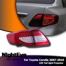 2010 toyota corolla brake light bulb 2x led tail rear light brake stop l turn signal for 2007 2010