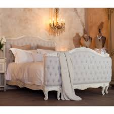 tufted bed frame for elegant and glamorous bedroom bedroom