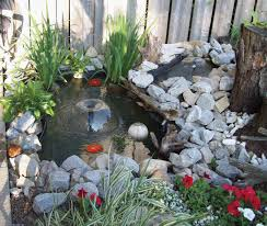 Backyard Pond Kits Home Depot  Making Safe Backyard With Backyard - Pond lights home depot