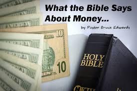 5 biblical truths about money