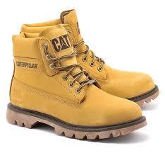 cat caterpillar watershed waterproof walking mens boots size 6 12